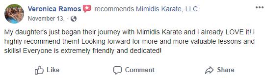 Kids1, Mimidis Karate Lancaster