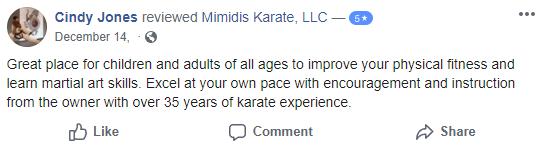 Kids4, Mimidis Karate Lancaster